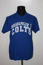 Vintage 1997 Indianapolis Colts Script Blue Tee Shirt L