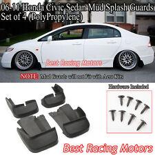 06-11 Honda Civic 4dr Mud Splash Guards Kit