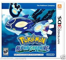 Brand New Unused Pokémon Alpha Sapphire For Nintendo 3DS RPG Game XL Pokemon US