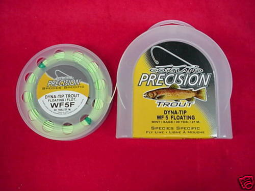 Cortle Precision Trout WF5F Fly Line Sagebianca GREAT nuovo