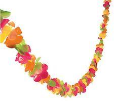 200 ft Hibiscus Flowers Garland Luau Party Decor Hawaiian Lei Wedding Decoration
