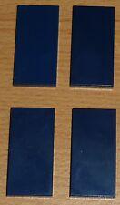 Lego 4 Fliesen 2 x 4 in dunkel blau