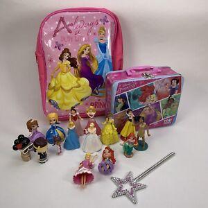 Disney-Princess-12x-Figures-Bag-Tin-Bundle-Joblot-Set-More