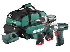 Metabo 2.3 Powermaxx Combo Set 10.8 Volt 2 x 2.0Ah Li-Ion Drill & Driver COMBO23