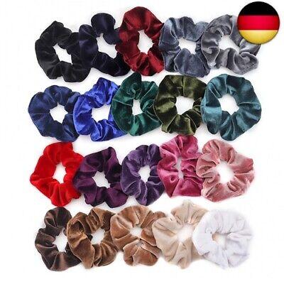 20 Stück Haargummi Haarbänder Verschiedene Farben