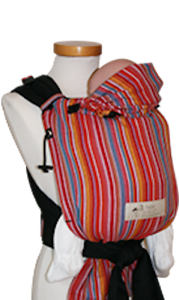 Storchenwiege-Half-Buckle-Baby-Carrier-Lilly