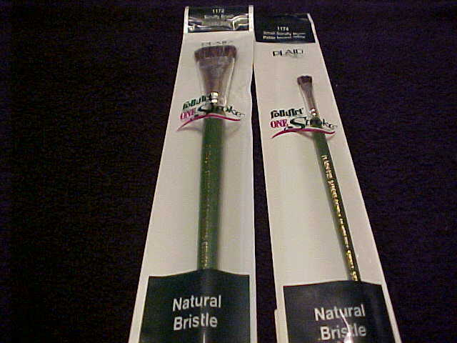 Donna Dewberry 24 One Stroke 3//4 in Brushes #1172 Painting Retail $112 Scruffy