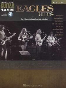 Les Aigles Hits Guitar Play-along Tab Music Livre Audio/déjà Disparu Ces Chaussures-afficher Le Titre D'origine