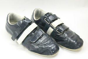 BIKKEMBERGS-men-shoes-sz-8-Europe-41-bue-polished-leather-S6811