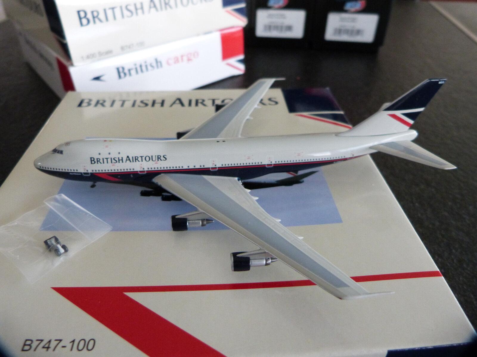 1 400e Big Bird British airtours B747-200B G-BMGS - RARE