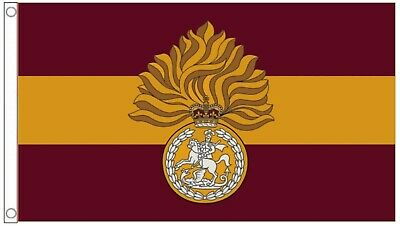 Royal Regiment of Fusiliers 5ft x 3ft Flag Army Armed Forces Military Banner