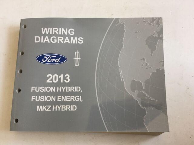 2013 Fusion Hybrid Fusion Energi Mkz Hybrid Wiring