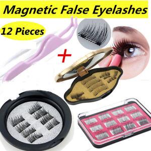 87e1dbb39ad Image is loading 3-Second-12Pc-3D-Magnetic-False-Eyelashes-Natural-