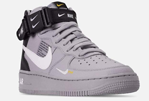 promo code ee2e8 d02ce Image is loading Nike-Air-Force-1-AF-1-Mid-LV8-
