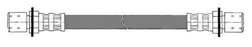 Brake Hydraulic Hose Rear Right Upper Centric 150.44429
