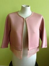 Max Mara New Authentic Dusty Pink short jacket, Size 6, MSRP $425.00
