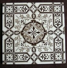 "Victorian 6"" transfer printed tile c1885"