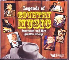 Legends of Country  -  Reader's Digest  5 CD Box