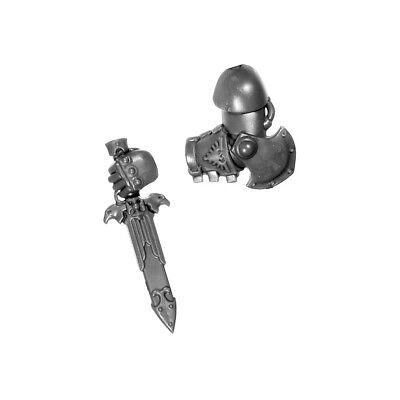 Accurato Cug45 Bras Ga Dague Custodian Guard Warhammer 40000 Bitz W40k Horus Heresy 10-12 Né Troppo Duro Né Troppo Morbido