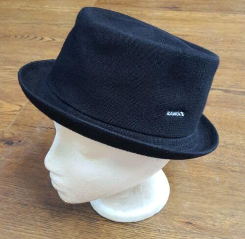Kangol  Black Bucket Hat Size OSFA GUC