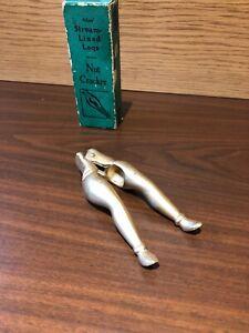 ADAMS-039-Vintage-STREAM-LINED-LEGS-NUT-CRACKER-In-Original-Box
