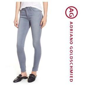 31 Legging 178 Ag Skinny Ankle Sz The Super Jeans Grey F5548qx