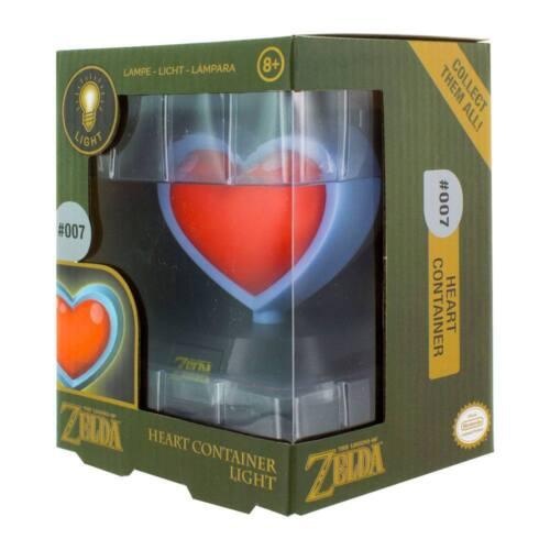 Legend of Zelda 3D Lampe Herzcontainer 10cm Neu /& OVP