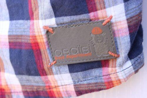 new  OBAIBI Baby Boys Scottish Checks Classic Long Sleeves Shirt Top Size 18m