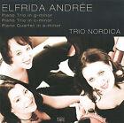 Elfrida Andr'e: Piano Trio in G minor; Piano Trio in C minor; Piano Quartet in A minor (CD, Feb-2009, Intim Musik)