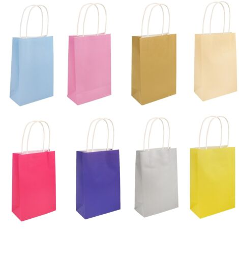 10 HANDLE PAPER PARTY BAG GIFT PARTY BAGS WEDDING BIRTHDAY CHRISTMAS BABY SHOWER