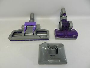 Dyson Vacuum 3 Piece Attachments Pet Cleaning Mini Turbine