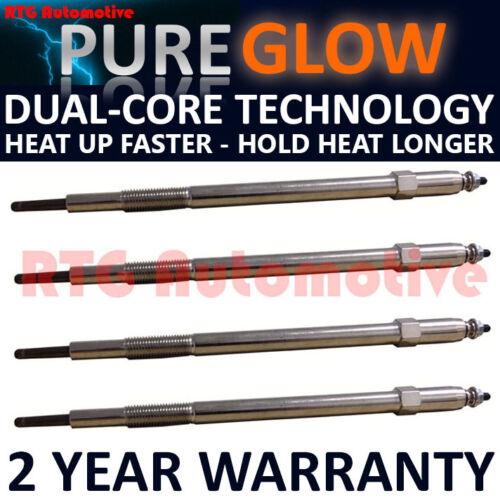 4X Diesel Glow Riscaldamento Candele PER NISSAN INTERSTAR TERRANO RENAULT MASTER 3.0 DCI