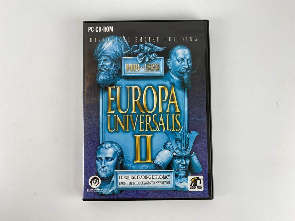 Europa Universalis II, til pc, realtime strategi