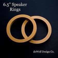 "10/"" Speaker Spacer Rings Pair 3//4/"" MDF 10 Inch Subwoofer Fiberglass No Inset"