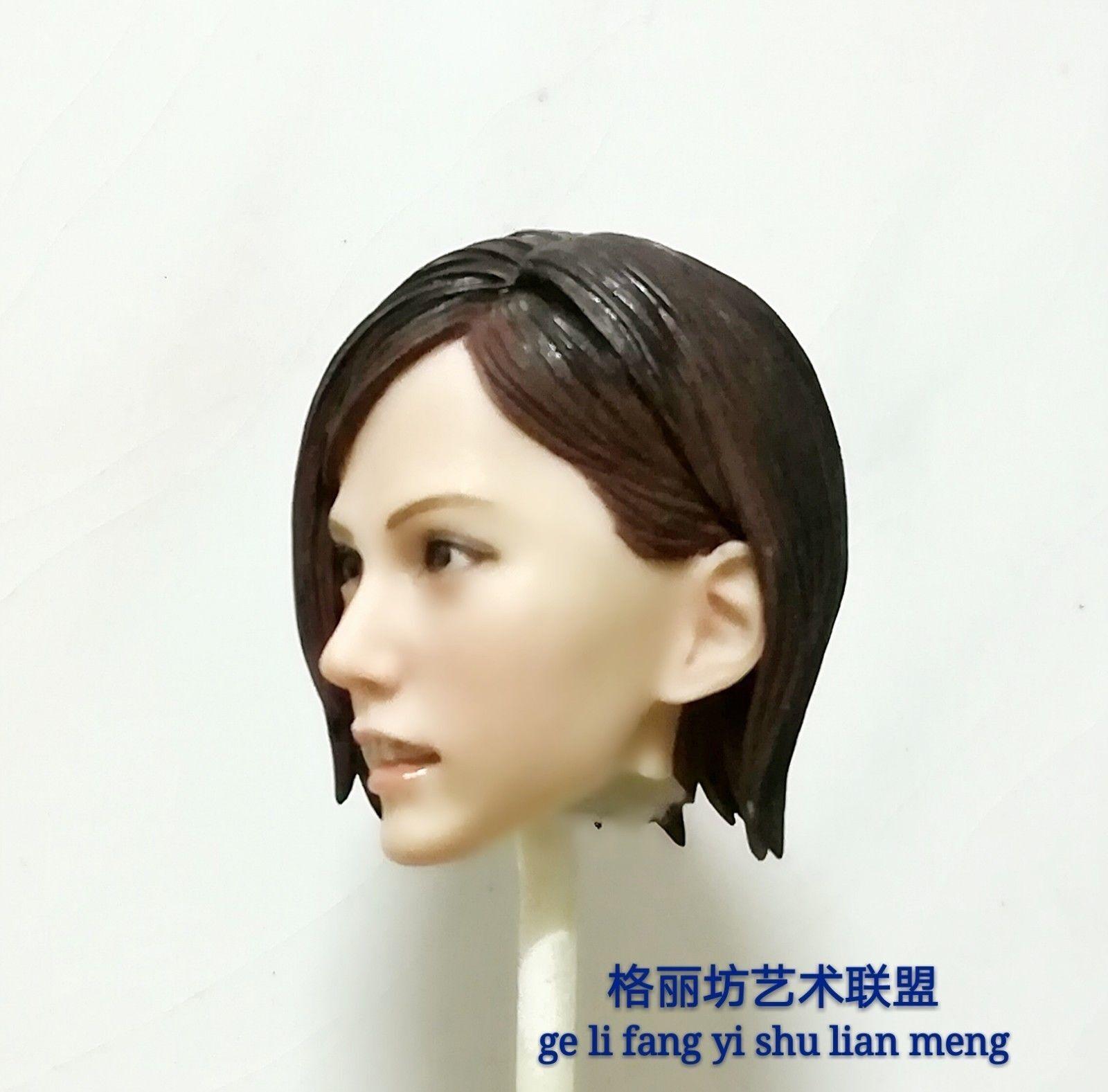1 6 Scale Mai Shiranui Female Head Sculpt Model F 12  Action Figure