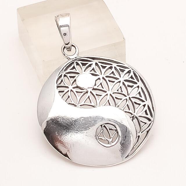 925 Sterling Silver Designer Pendant Handmade Unisex Fashion Fine Jewelry Gifts
