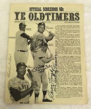 Ye Oldtimers Scorebook signed by Casey Stengel, Mantle, Autry, and 50 more!! JSA