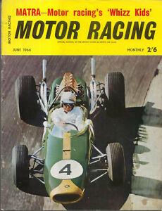 Motor Racing 06/1966 Matra Austin Healey Le Mans Sprites BRM H16 John Sprinzel