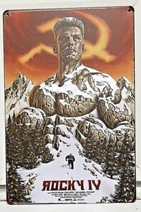 Rocky-IV-Metal-Sign-Movie-Poster-Russia-2018-Creed-2-Ivan-Drago-Balboa-CCCP-USSR