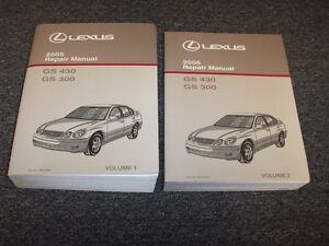 2002 Lexus GS 300 GS 430 Shop Service Repair Manual Complete Set