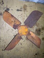 Vintage Minneapolis Moline Zau Tractor Fan Blade 1949