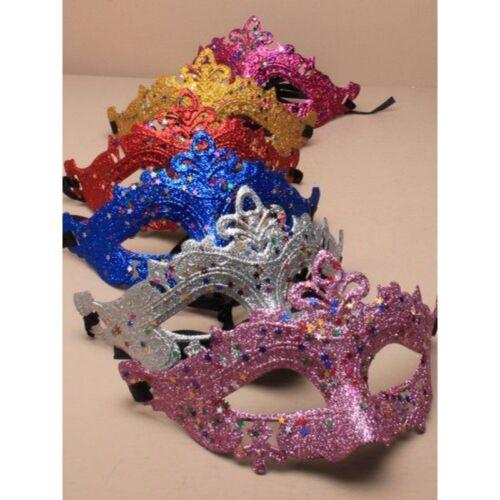 Masquerade Maschere All/'ingrosso Lavoro Lotto PARTY GLITTER VISO OCCHI MASCHERE bulk buy