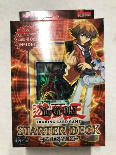 YuGiOh Jaden Yuki structure Theme Deck pour jeu de cartes carte à collectionner Jeu TRADING CARD GAME