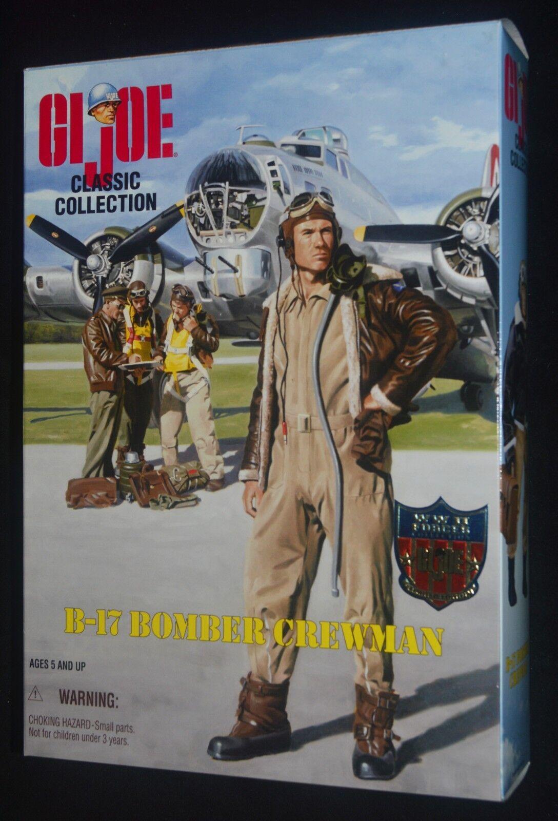 Gi - joe - ww ii b - 17 bomber kräfte classic collection 12  nrfb