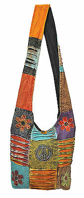 NEW ★ BOHO HIPPY SLING BAG HIPPIE BEACH HANDBAG SHOULDER FESTIVAL ★ RRP - £44.99