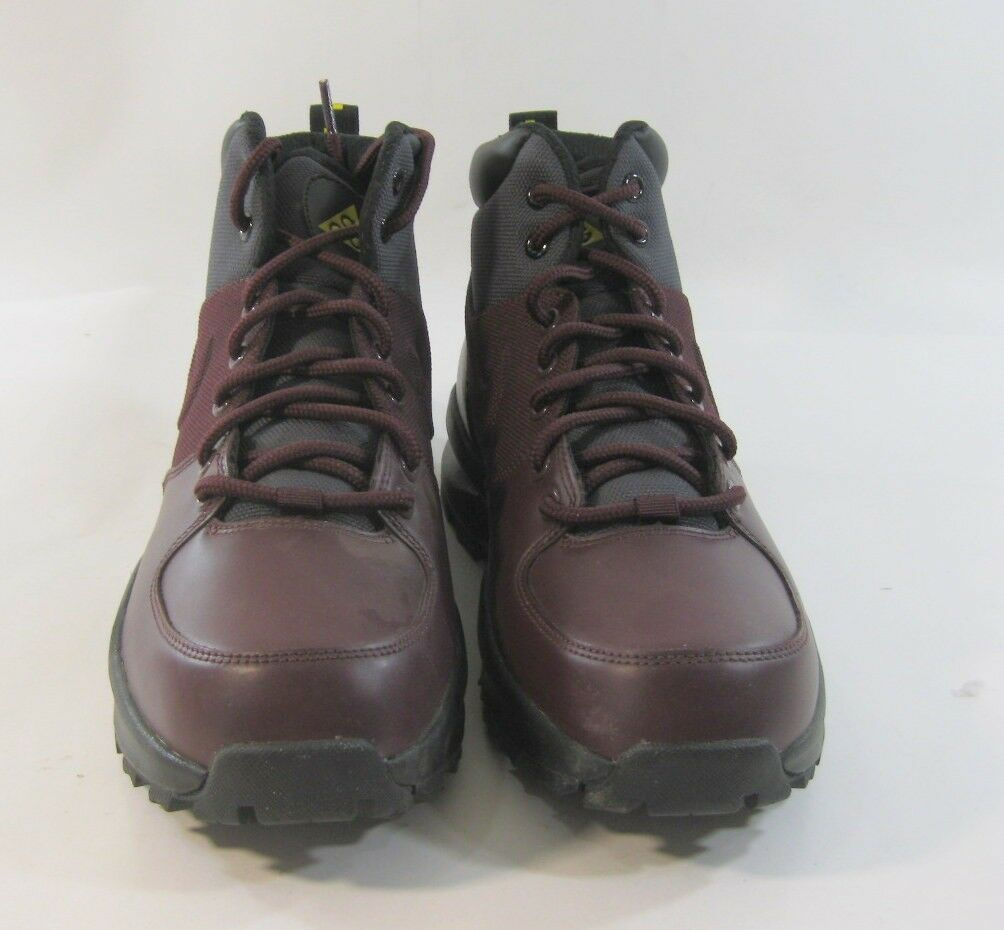 New Nike Manoa Athletic Deep Burgundy/Anthracite 472780 600 Uomo Athletic Manoa Size 8 a0d4d1