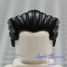NEW Lego Minifig Slicked-back BLACK HAIR w/Widows Peak - Dracula/Vampire Wig NEW
