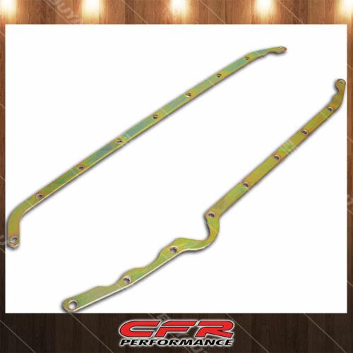 Fits Chevy 1958-1979 Small Block 283 305 327 350 Oil Pan Reinforced Rails Zinc