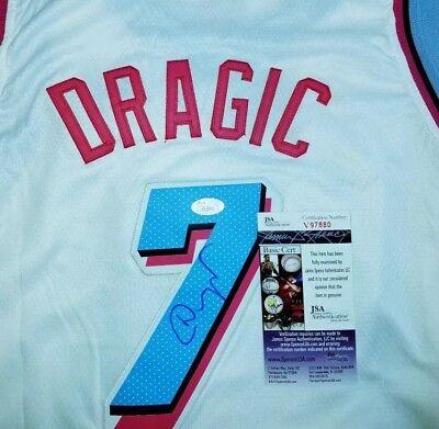 reputable site 6630b 1ddd2 Goran Dragic Signed a Rare Miami Vice Heat Jersey Size XL In Person JSA...  | eBay