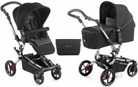 Jane Epic Pushchair With Micro Carrycot Black Chrome S49 Bag & Raincover